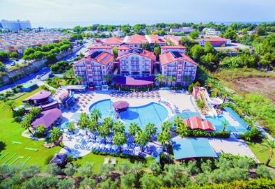 Самолетна почивка в Турция! 3 нощувки на човек на база All inclusive в Hane Sun Hotel 5*, Сиде, Турска ривиера с двупосочен чартърен полет от София - Снимка