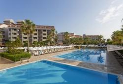 Самолетна почивка в Турция! 7 нощувки на човек на база All inclusive в Primasol Hane Family Resort 4*, Сиде, Турска ривиера с двупосочен чартърен полет от София - Снимка