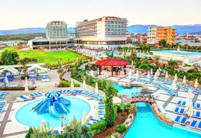 Самолетна почивка в Турция! 7 нощувки на човек на база All inclusive в Kahya Resort Aqua & SPA  5*, Алания, Турска ривиера с двупосочен чартърен полет от София - Снимка