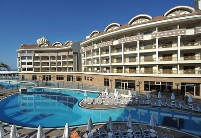 Самолетна почивка в Турция! 3 нощувки на човек на база Ultra all inclusive в Kirman Belazur Resort & SPA 5*, Белек, Турска ривиера с двупосочен чартърен полет от София - Снимка