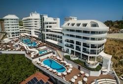 Самолетна почивка в Турция! 7 нощувки на човек на база All inclusive в Laguna Beach Alya Resort & Spa 5*, Алания, Турска ривиера с двупосочен чартърен полет от София - Снимка