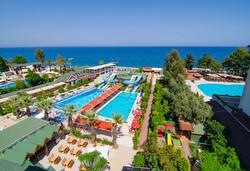 Самолетна почивка в Турция! 7 нощувки на човек на база All inclusive в Lims Bona Dea Beach Hotel 4*, Кемер, Турска ривиера с двупосочен чартърен полет от София - Снимка