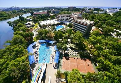 Самолетна почивка в Турция! 7 нощувки на човек на база All inclusive в Linda Resort Hotel 5*, Сиде, Турска ривиера с двупосочен чартърен полет от София - Снимка