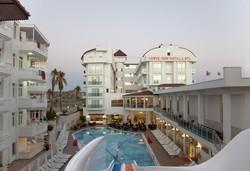 Самолетна почивка в Турция! 7 нощувки на човек на база All inclusive в Merve Sun Hotel & Spa 4*, Сиде, Турска ривиера с двупосочен чартърен полет от София - Снимка