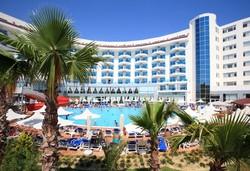 Самолетна почивка в Турция! 7 нощувки на човек на база Ultra all inclusive в Narcia Resort Hotel 5*, Сиде, Турска ривиера с двупосочен чартърен полет от София - Снимка