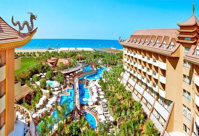 Самолетна почивка в Турция! 3 нощувки на човек на база Ultra all inclusive в Royal Dragon Hotel 5*, Сиде, Турска ривиера с двупосочен чартърен полет от София - Снимка