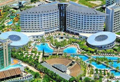 Самолетна почивка в Турция! 3 нощувки на човек на база Ultra all inclusive в Royal Wings Hotel 5*, Лара, Турска ривиера с двупосочен чартърен полет от София - Снимка