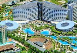 Самолетна почивка в Турция! 7 нощувки на човек на база Ultra all inclusive в Royal Wings Hotel 5*, Лара, Турска ривиера с двупосочен чартърен полет от София - Снимка