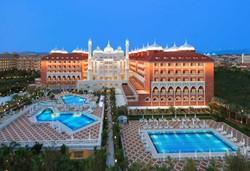 Самолетна почивка в Турция! 7 нощувки на човек на база Ultra all inclusive в Royal Taj Mahal Hotel 5*, Сиде, Турска ривиера с двупосочен чартърен полет от Варна - Снимка