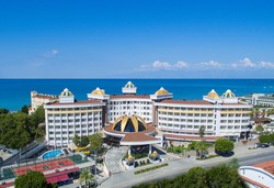 Самолетна почивка в Турция! 7 нощувки на човек на база All inclusive в Side Alegria Hotel & Spa 5*, Сиде, Турска ривиера с двупосочен чартърен полет от София - Снимка