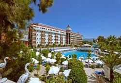 Самолетна почивка в Турция! 7 нощувки на човек на база All inclusive в Saphir Hotel & Villas 4*, Алания, Турска ривиера с двупосочен чартърен полет от София - Снимка