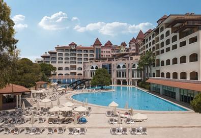 Самолетна почивка в Турция! 4 нощувки на човек на база Ultra all inclusive в Sirene Belek Golf & Wellness Hotel 5*, Белек, Турска ривиера с двупосочен чартърен полет от София - Снимка