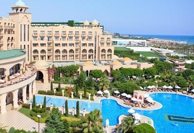 Самолетна почивка в Турция! 4 нощувки на човек на база Ultra all inclusive в Spice Hotel & Spa 5*, Белек, Турска ривиера с двупосочен чартърен полет от София - Снимка
