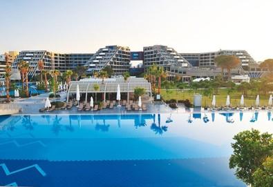 Самолетна почивка в Турция! 7 нощувки на човек на база Ultra all inclusive в Susesi Luxury Resort 5*, Белек, Турска ривиера с двупосочен чартърен полет от София - Снимка