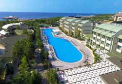 Самолетна почивка в Турция! 7 нощувки на човек на база All inclusive във Von Resort Elite 5*, Сиде, Турска ривиера с двупосочен чартърен полет от София - Снимка