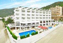 Самолетна почивка в Турция! 7 нощувки на човек на база All inclusive в Ideal Piccolo Hotel  4*, Мармарис, Егейска Турция с двупосочен чартърен полет от София - Снимка