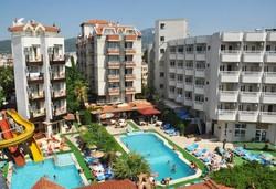 Самолетна почивка в Турция! 7 нощувки на човек на база All inclusive в Aegean Park Hotel 3*, Мармарис, Егейска Турция с двупосочен чартърен полет от София - Снимка