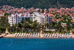 Самолетна почивка в Турция! 7 нощувки на човек на база All inclusive в Hotel Aqua 5*, Мармарис, Егейска Турция с двупосочен чартърен полет от София - Снимка