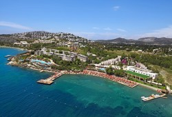 Самолетна почивка в Турция! 7 нощувки на човек на база Ultra all inclusive в Kadikale Resort  5*, Бодрум, Егейска Турция с двупосочен чартърен полет от София - Снимка