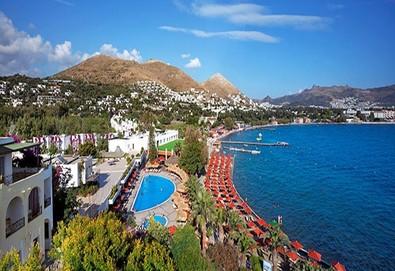Самолетна почивка в Турция! 7 нощувки на човек на база All inclusive в Kadikale Resort  5*, Бодрум, Егейска Турция с двупосочен чартърен полет от София - Снимка