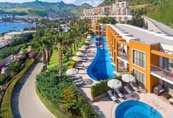 Самолетна почивка в Турция! 7 нощувки на човек на база Ultra all inclusive в Kefaluka Resort 5*, Бодрум, Егейска Турция с двупосочен чартърен полет от София - Снимка