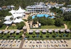 Самолетна почивка в Турция! 7 нощувки на човек на база Ultra all inclusive в Latanya Park Resort 4*, Бодрум, Егейска Турция с двупосочен чартърен полет от София - Снимка