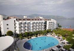 Самолетна почивка в Турция! 7 нощувки на човек на база All inclusive в Luna Beach Deluxe Hotel 5*, Мармарис, Егейска Турция с двупосочен чартърен полет от София - Снимка