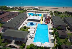 Самолетна почивка в Турция! 7 нощувки на човек на база All inclusive в Arma`s Beach Hotel 4*, Белек, Турска ривиера с двупосочен чартърен полет от Варна - Снимка
