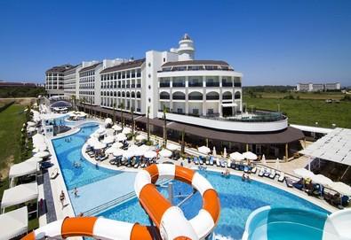 Самолетна почивка в Турция! 3 нощувки на човек на база Ultra all inclusive в Port River Hotel & Spa 5*, Сиде, Турска ривиера с двупосочен чартърен полет от София - Снимка