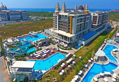 Самолетна почивка в Турция! 7 нощувки на човек на база Ultra all inclusive в Riolavitas Spa & Resort 5*, Сиде, Турска ривиера с двупосочен чартърен полет от Варна - Снимка