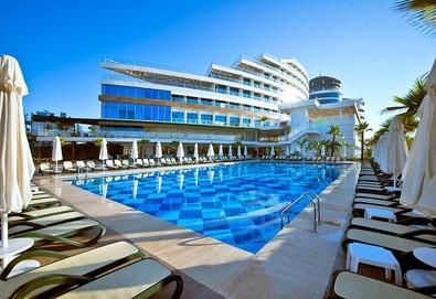 Самолетна почивка в Турция! 3 нощувки на човек на база Ultra all inclusive в Raymar Hotels & Resorts 5*, Сиде, Турска ривиера с двупосочен чартърен полет от София - Снимка