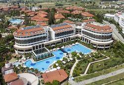 Самолетна почивка в Турция! 7 нощувки на човек на база Ultra all inclusive в Alba Royal Hotel 5*, Сиде, Турска ривиера с двупосочен чартърен полет от София - Снимка