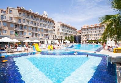 Самолетна почивка в Турция! 4 нощувки на човек на база All inclusive в Diamond Beach Hotel & Spa 5*, Сиде, Турска ривиера с двупосочен чартърен полет от София - Снимка
