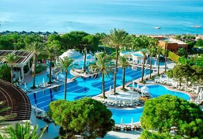 Самолетна почивка в Турция! 3 нощувки на човек на база Ultra all inclusive в Limak Atlantis De Luxe Hotel & Resort 5*, Белек, Турска ривиера с двупосочен чартърен полет от София - Снимка