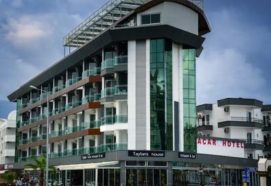 Самолетна почивка в Турция! 7 нощувки на човек на база All inclusive в Acar Hotel 4*, Алания, Турска ривиера с двупосочен чартърен полет от София - Снимка