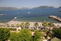 Самолетна почивка в Турция! 7 нощувки на човек на база All inclusive в Tropical Beach Hotel 4*, Мармарис, Егейска Турция с двупосочен чартърен полет от София - Снимка