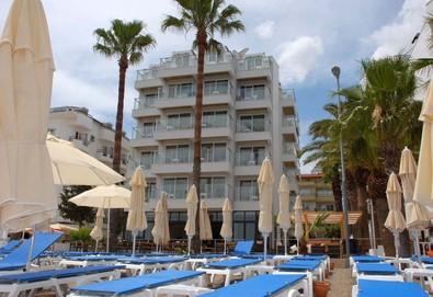 Самолетна почивка в Турция! 7 нощувки на човек на база All inclusive в Marmaris Begonville Beach Hotel 3*, Мармарис, Егейска Турция с двупосочен чартърен полет от София - Снимка