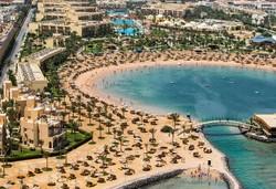 Самолетна почивка в Египет! 7 нощувки на човек на база All inclusive в Desert Rose Resort 5*, Хургада, Червено Море с двупосочен чартърен полет от София - Снимка