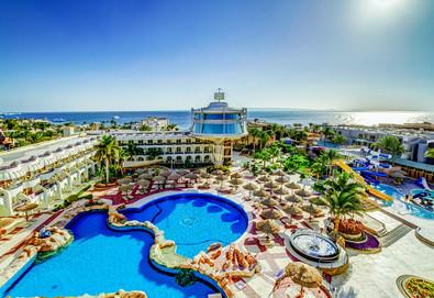 Самолетна почивка в Египет! 7 нощувки на човек на база All inclusive в Seagull Beach Resort 4*, Хургада, Червено Море с двупосочен чартърен полет от София - Снимка