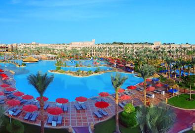 Самолетна почивка в Египет! 7 нощувки на човек на база All inclusive в Albatros Palace Resort 5*, Хургада, Червено Море с двупосочен чартърен полет от София - Снимка