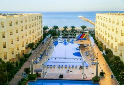 Самолетна почивка в Египет! 7 нощувки на човек на база All inclusive в Amc Royal Hotel & Spa 5*, Хургада, Червено Море с двупосочен чартърен полет от София - Снимка