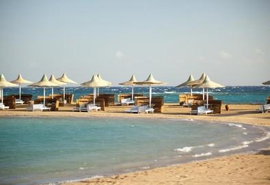 Самолетна почивка в Египет! 7 нощувки на човек на база All inclusive в Coral Beach Hurghada Resort 4*, Хургада, Червено Море с двупосочен чартърен полет от София - Снимка
