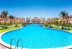 Самолетна почивка в Египет! 7 нощувки на човек на база All inclusive в Jasmine Palace Resort 5*, Хургада, Червено Море с двупосочен чартърен полет от София - Снимка