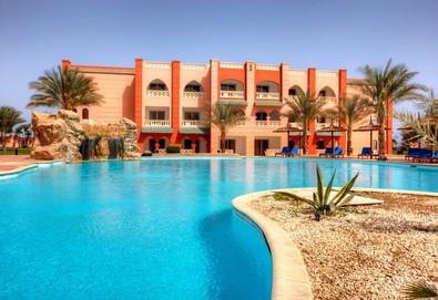 Самолетна почивка в Египет! 7 нощувки на човек на база All inclusive в Aqua Vista Resort 4*, Хургада, Червено Море с двупосочен чартърен полет от София - Снимка