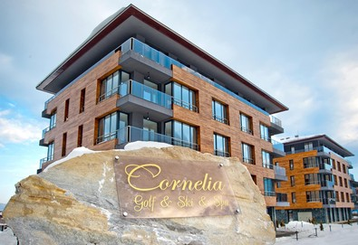 Великден в Cornelia Deluxe Residence 3* Банско! 3 нощувки със закуски, вечери и един Празничен обяд, ползване на вътрешен басейн и релакс център, безплатно за деца до 5.99г.!  - Снимка