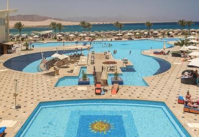 Самолетна почивка в Египет! 7 нощувки на човек на база All inclusive в Barcelo Tiran Sharm 5*, Шарм Ел Шейх, Червено Море с двупосочен чартърен полет от София - Снимка