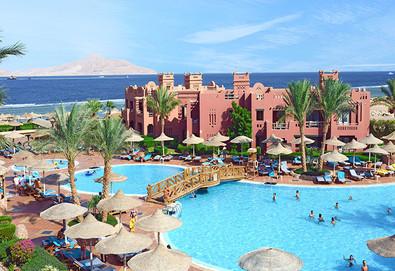 Самолетна почивка в Египет! 7 нощувки на човек на база All inclusive в Charmillion Sea Life Resort 4*, Шарм Ел Шейх, Червено Море с двупосочен чартърен полет от София - Снимка