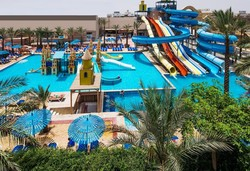 Самолетна почивка в Египет! 7 нощувки на човек на база All inclusive в Mirage Bay Resort & Aqua Park 5*, Хургада, Червено Море с двупосочен чартърен полет от София - Снимка