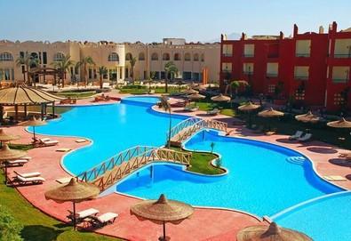 Самолетна почивка в Египет! 6 нощувки на човек на база All inclusive в Aqua Hotel Resort & Spa (ex. Sharm Bride) 4*, Шарм Ел Шейх, Червено Море с двупосочен чартърен полет от София - Снимка