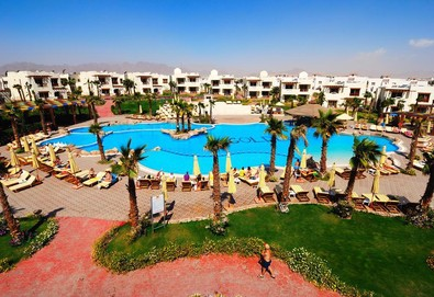 Самолетна почивка в Египет! 7 нощувки на човек на база All inclusive в Shores Golden Resort (ex. Otium Golden) 4*, Шарм Ел Шейх, Червено Море с двупосочен чартърен полет от София - Снимка